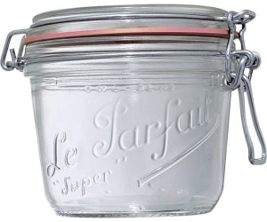 Lot de 6 Le parfait 200 ml terrine Bocaux Avec Vis Top couvercles