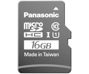 Panasonic MicroSDHC Gold 16GB Class 10 UHS I RP SMGA16GAK