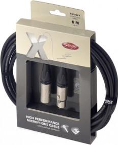 Stagg XMC6XX Mikrofonkabel (6m)