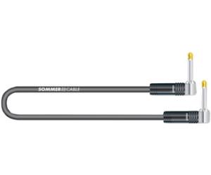 30 cm Patchkabel 6,3 Winkelklinke mono und Sommercable Tricone® MK II