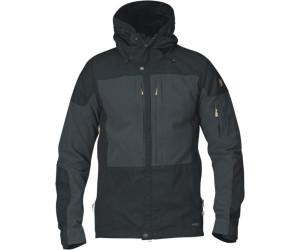 49024eb0e59e Fjällräven Keb Jacket Black Dark Grey ab 154,68 €   Preisvergleich ...