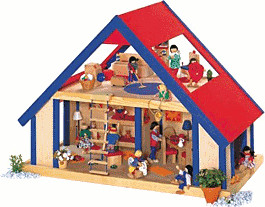 Selecta Puppenhaus (4246)