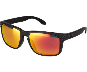 Oakley Holbrook OO9102 51 57 matte black / ruby iridium polarized pM24k3a