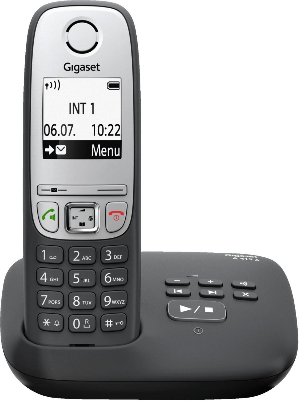 Image of Gigaset A415A Single black