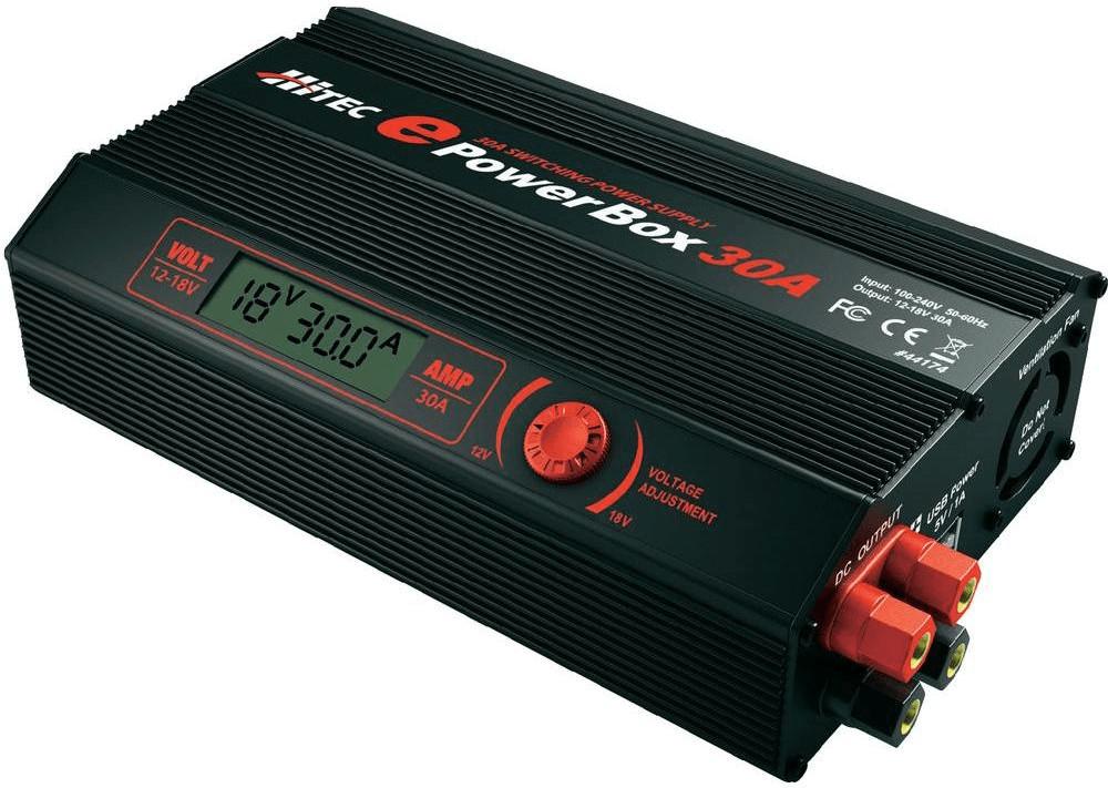 Hitec Netzteil EPOWERBOX 30A 230V (114121)