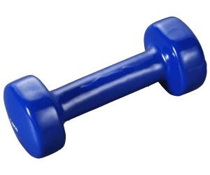 1 Paar Gymnastikhanteln Vinyl-Fitnesshantel in 6 Gewichten lieferbar!