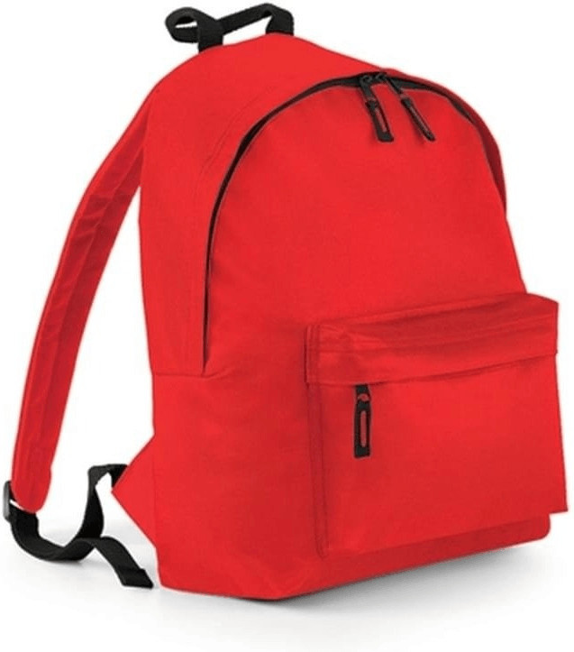 Bagbase Junior Fashion Backpack bright red