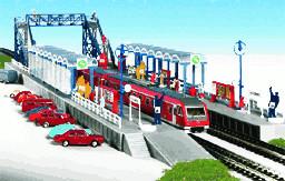 Kibri S-Bahn-Haltestelle Goldberg (7756)