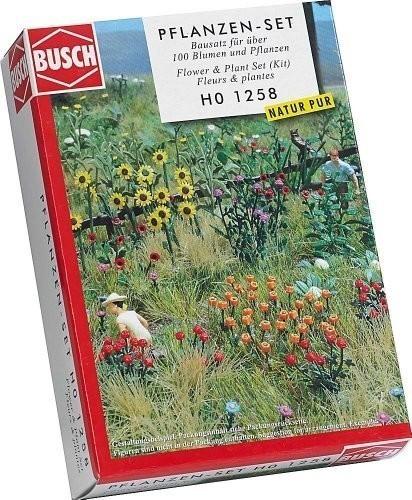 Busch Blumen und Pflanzen-Set (1258)