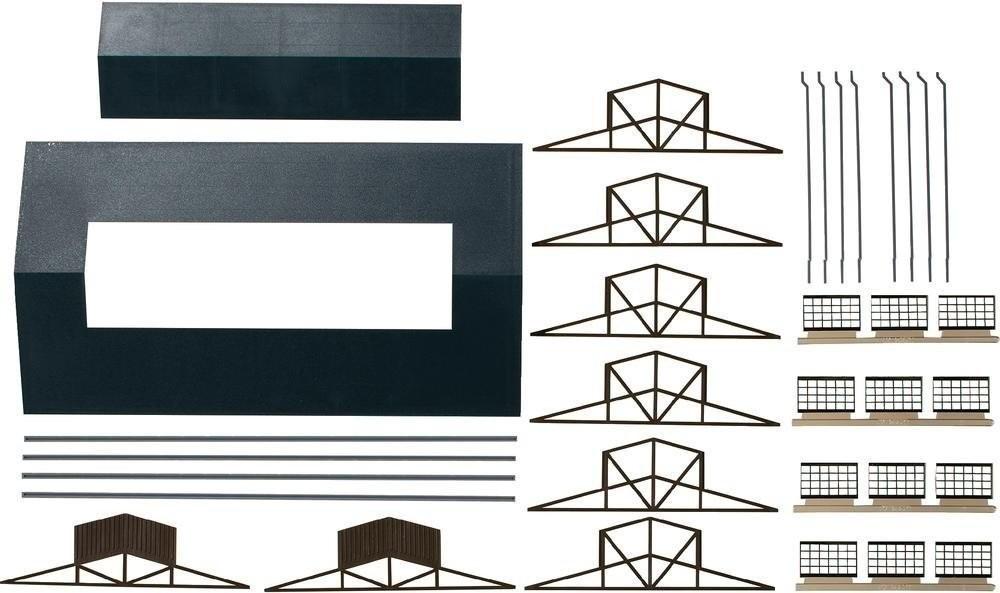 Auhagen Dach mit Oberlichte (80303)