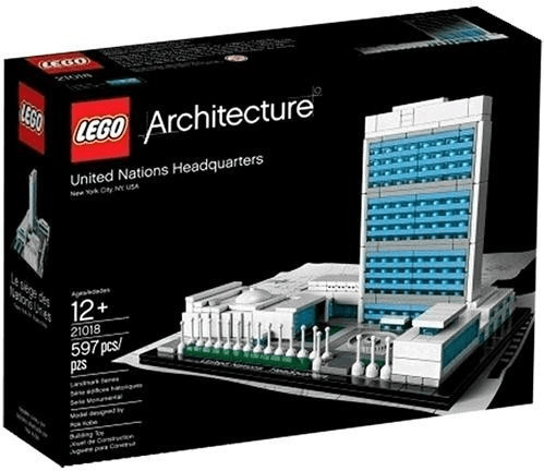 LEGO Architecture - Le siège des Nations Unies (21018)