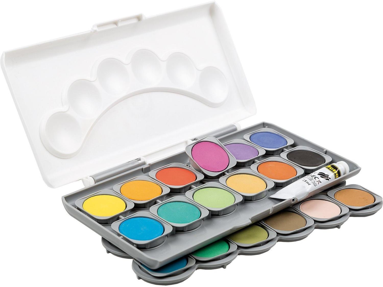 Idena Deckfarbkasten 24 Farben