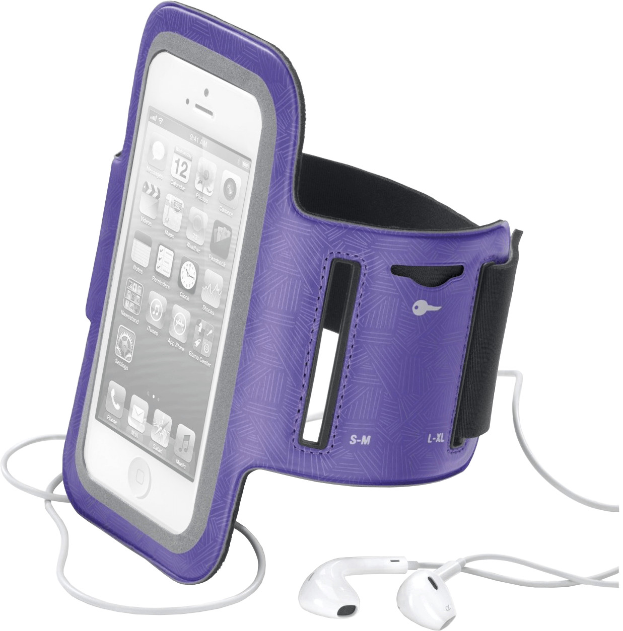 Cellular Line Sportarmband lila (iPhone/iPod)