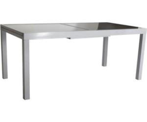 merxx amalfi ausziehtisch 140 180 x 90 cm alu glas ab 224 99 preisvergleich bei. Black Bedroom Furniture Sets. Home Design Ideas