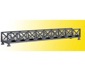 Kibri Fachwerk-Stahlbrücke eingleisig (39702)