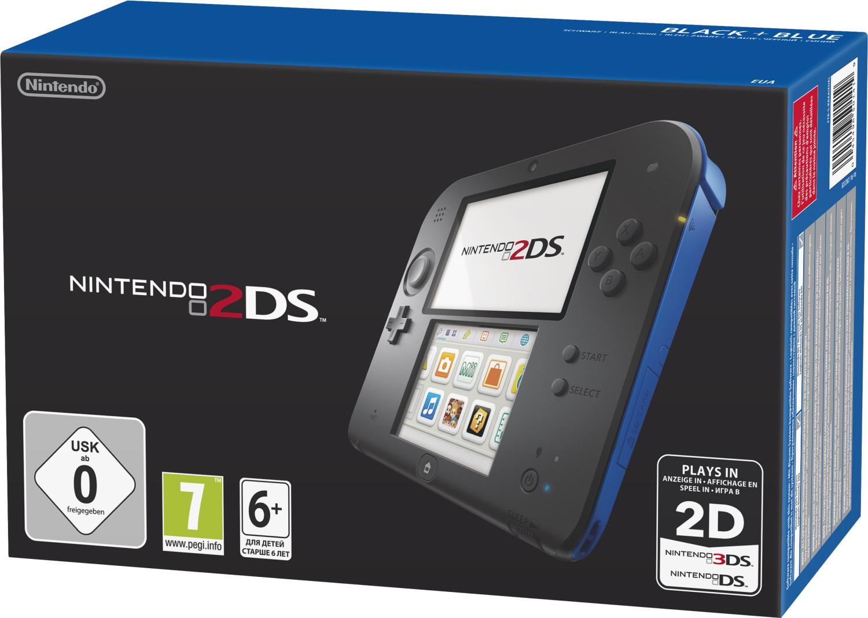 Nintendo 2DS negro-azul