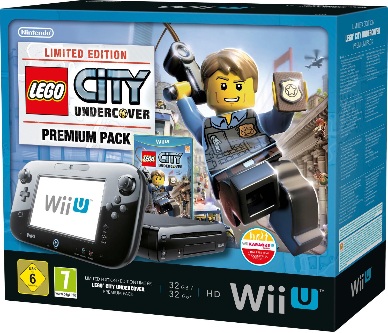 Nintendo Wii U LEGO City: Undercover Premium Pa...