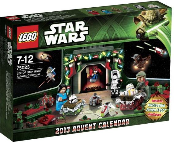 LEGO Calendrier de l'Avent Star Wars 2013 (75023)