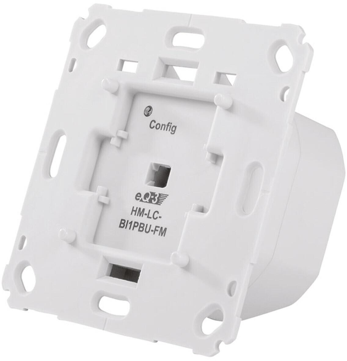 HomeMatic Funk-Rollladenaktor 1-fach für Markenschalter (HM-LC-Bl1PBU-FM)