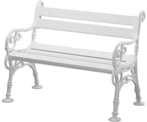 blome linderhof 2 sitzer wei kunststoff ab 157 48 preisvergleich bei. Black Bedroom Furniture Sets. Home Design Ideas