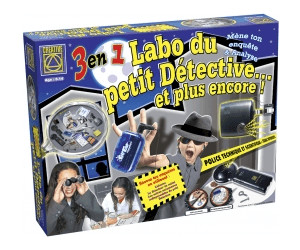 Image of BSM Games Creative: 3 in 1 Crime Scene Detectives Lab