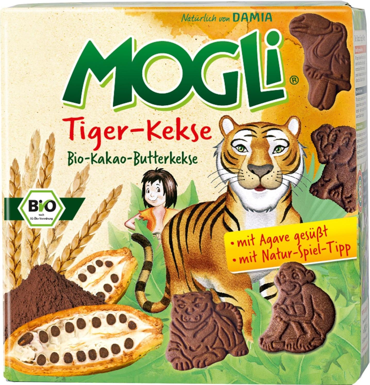 Mogli Tiger-Kekse (125 g)