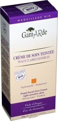 Gamarde Tinted Facial Care Cream Light Sensitive Skins (40 g)