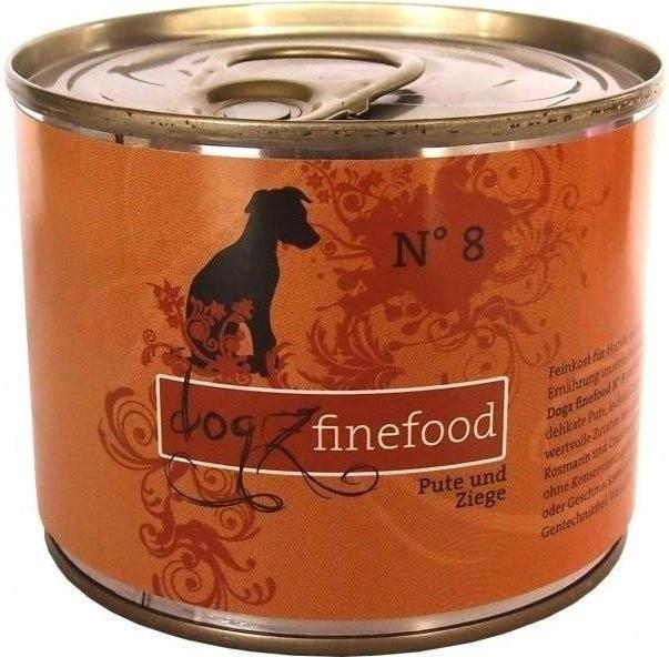 Dogz finefood No.8 Pute & Ziege (200 g)
