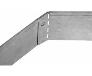 Rasenkante Edelstahl bellissa rasenkante metall 118 x 13 cm ab 5 84 preisvergleich