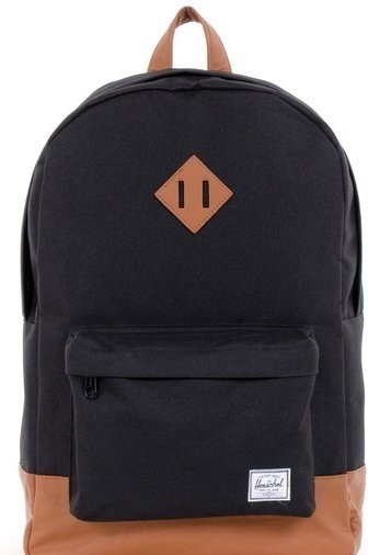 Herschel Heritage Backpack black/tan