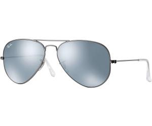 Ray Ban Ray-Ban Sonnenbrille »aviator Large Metal Rb3025«, Grau, 029/30 - Grau/silber