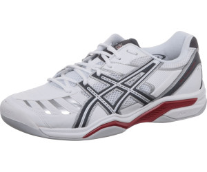 Asics Gel Challenger 9 Indoor whitegreyblackred desde 39