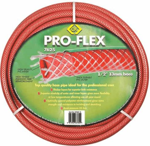 C.K Tools Gartenschlauch Pro-Flex 1/2