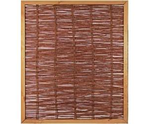t j weidengeflechtzaun mit rahmen 120 x 140 cm ab 49 49 preisvergleich bei. Black Bedroom Furniture Sets. Home Design Ideas