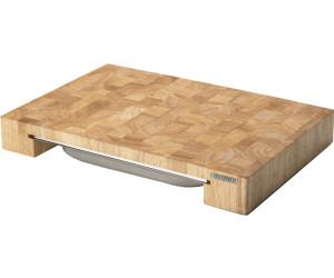 continenta schneidebrett mit edelstahl schublade ab 37 59 preisvergleich bei. Black Bedroom Furniture Sets. Home Design Ideas