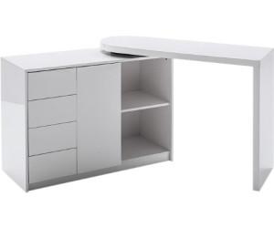 Schreibtisch Stauraum mca furniture schreibtisch-kombination mit stauraum matt ab 241,32