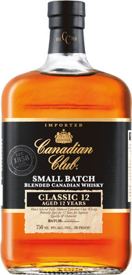 Canadian Club Whisky Classic 12 Jahre 1l 40%