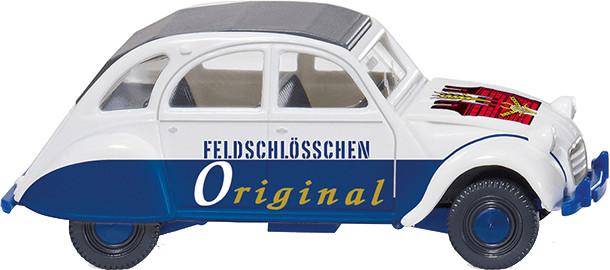 Wiking Citroën 2 CV ´´Feldschlösschen Original´...