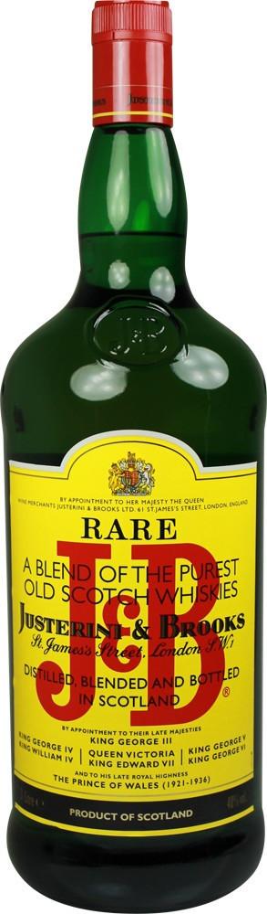 J&B Rare Blended Scotch Whisky 3l 40%