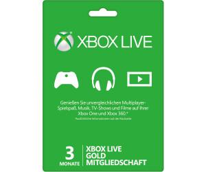 Microsoft Xbox Live Gold Ab 999 Oktober 2019 Preise