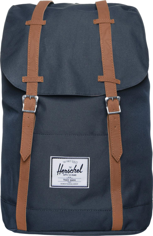 Herschel Retreat Backpack navy/tan pu