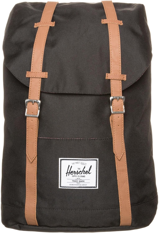 Herschel Retreat Backpack black/tan pu