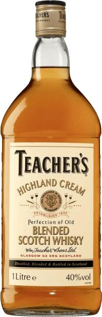 Teacher's Highland Cream Whisky 1,0l 40%