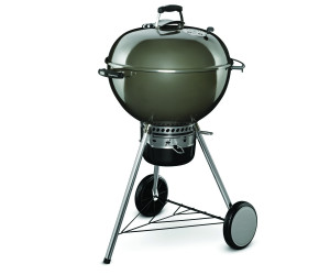 Weber Holzkohlegrill Q 260 : Weber master touch gbs cm smoke grey ab
