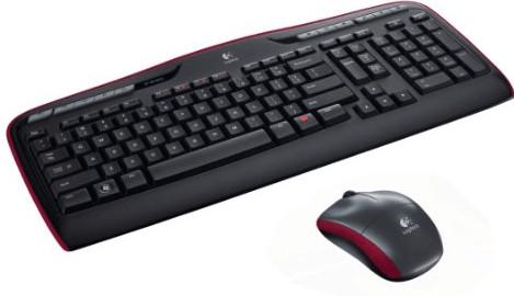 Logitech Wireless Combo MK330 Radio Transfer, PC/Mac, Keyboard