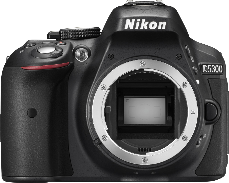 NUEVO Nikon D5300 con AF-S DX NIKKOR 18-105mm f/3.5-5.6G ED VR Lente NEGRO