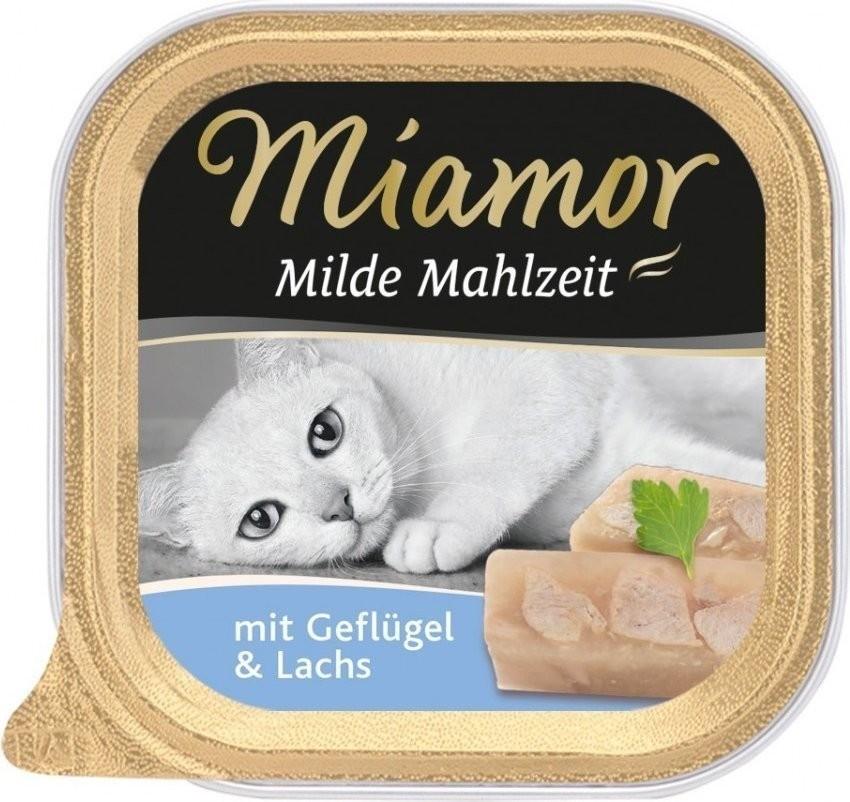 Miamor Milde Mahlzeit Geflügel & Lachs (100 g)