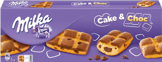Milka Cake & Choc (5er-Packung)