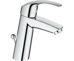 Grohe eurosmart 23322001 au meilleur prix sur - Mitigeur lavabo grohe eurosmart ...