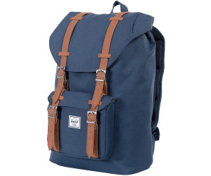 232362ba3e43 Buy Herschel Little America Backpack Mid-Volume navy tan pu from ...